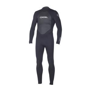 Xcel Xplorer 3/2 Men's Wetsuit - Black/Silver