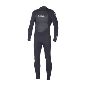 Xcel Men's Xplorer 3/2 Fullsuit - Black/Silver