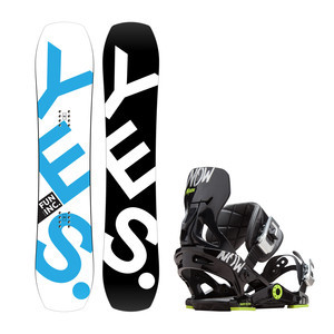YES. Fun Inc 127 + Now NxGen Youth Snowboard Package