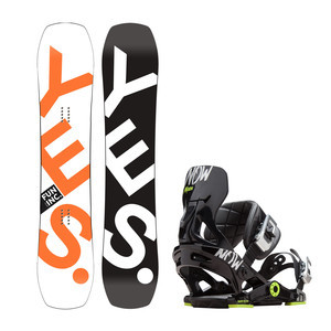 YES. Fun Inc 133 + Now NxGen Youth Snowboard Package