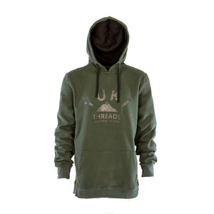 Yuki Threads Dropping Hoodie - Forest Green