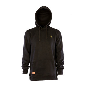 Yuki Threads Old Mate Regular Fit Hoodie - Black