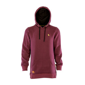 Yuki Threads Old Mate Slim Fit Hoodie - Plum