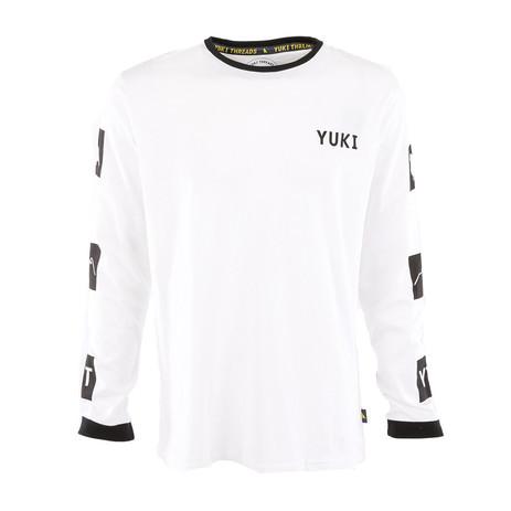 Yuki Threads Gang Related Long Sleeve T-Shirt - White