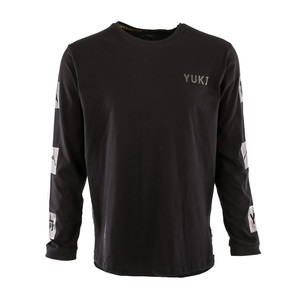 Yuki Threads Gang Related Long Sleeve T-Shirt - Black