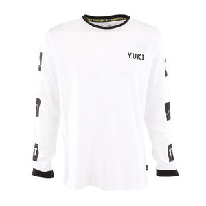 Yuki Threads Gang Related Long Sleeve T-Shirt - White