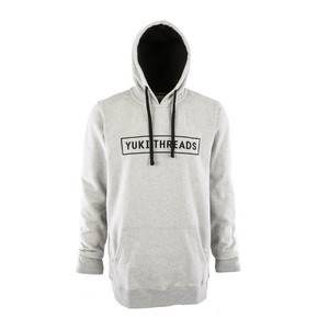 Yuki Threads New York Hoodie - Heather Grey