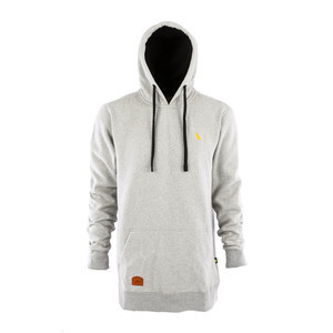 Yuki Threads Old Mate Regular Fit Hoodie - Heather Grey