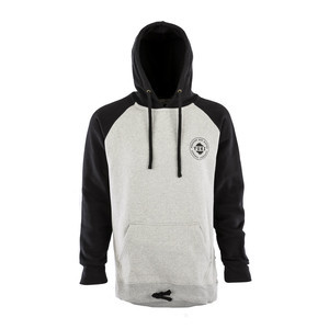 Yuki Threads Retro DWR Hoodie - Black/Heather Grey