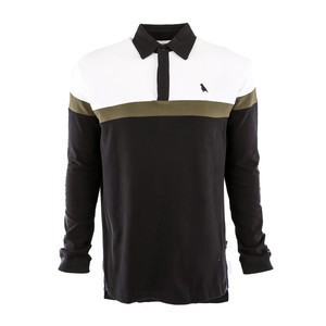Yuki Threads Rugby Shirt - White/Olive/Black