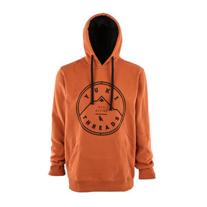 Yuki Threads Stamp Hoodie - Burnt Orange