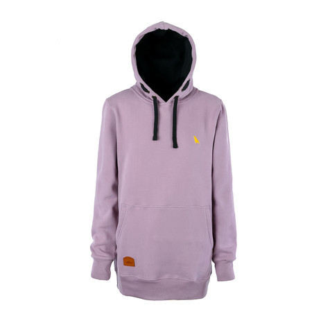 Yuki Threads Old Mate Slim Fit Hoodie - Dirty Lilac
