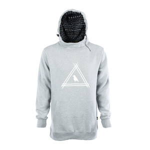 Yuki Threads Ronin Hoodie - Heather Grey