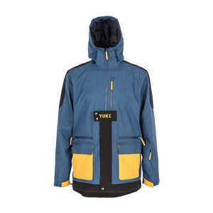 Yuki Threads Bel Air Snowboard Jacket 2019 - Navy / Charcoal / Golden Glow