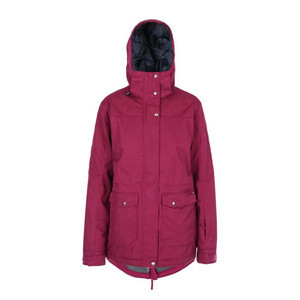Yuki Threads Brooklyn Women's Snowboard Jacket 2019 - Velvet Red